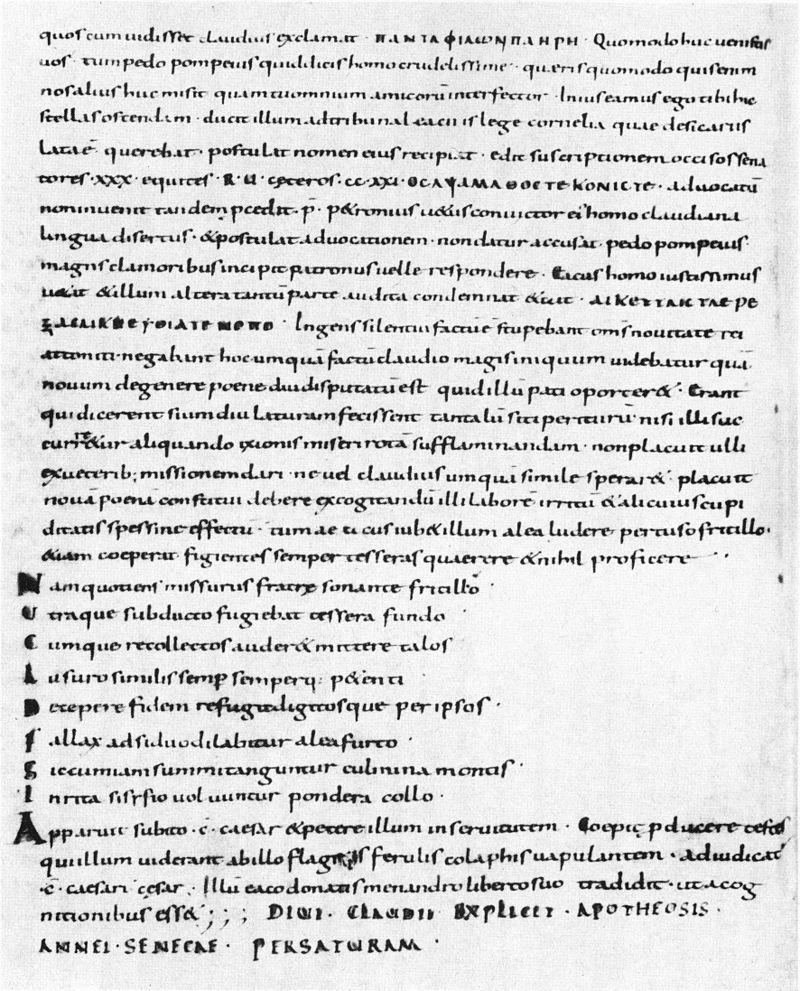 Trostschrift an Marcia – Seneca